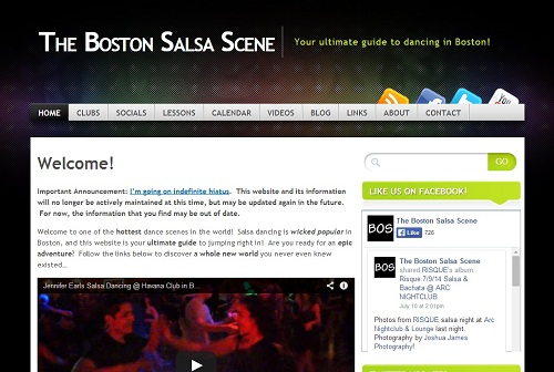 The Boston Salsa Scene