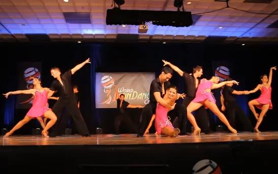 Rica Salsa Professional Team Video 1