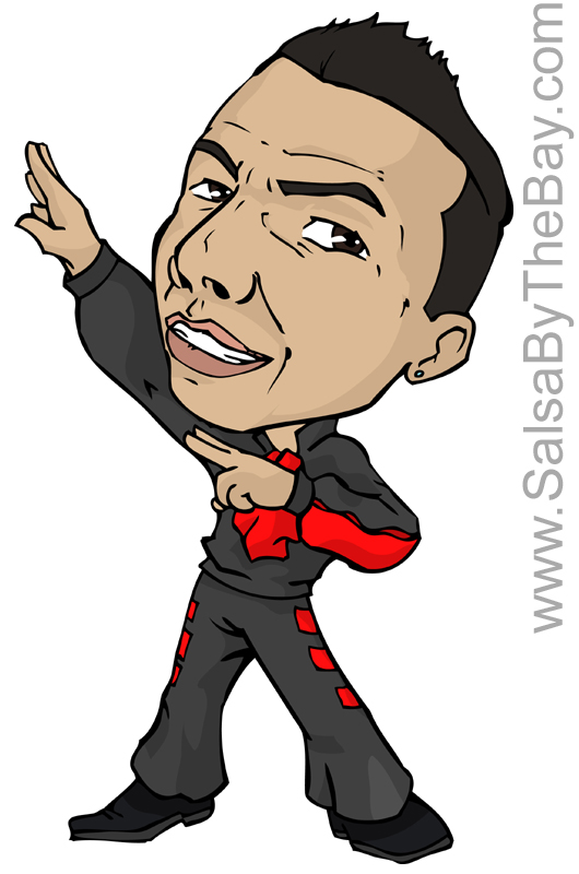 Luis Aguilar Caricature