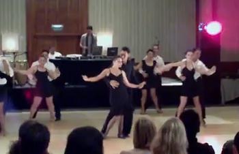 Rica Salsa Professional Team Video 2