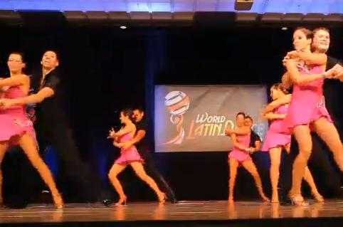 Rica Salsa Professional Team Video 3