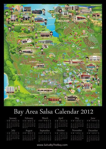 Salsa Calendar 2012