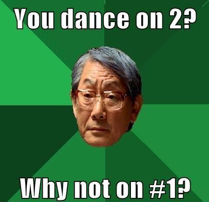 Asian Dad Salsa Dancing Meme