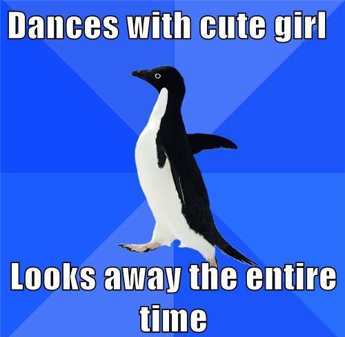 Awkward Penguin Salsa Dancing Meme