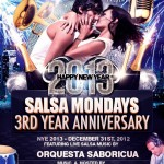 Azucar Mondays 3rd Anniversary