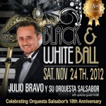 Black White Ball Julio Bravo