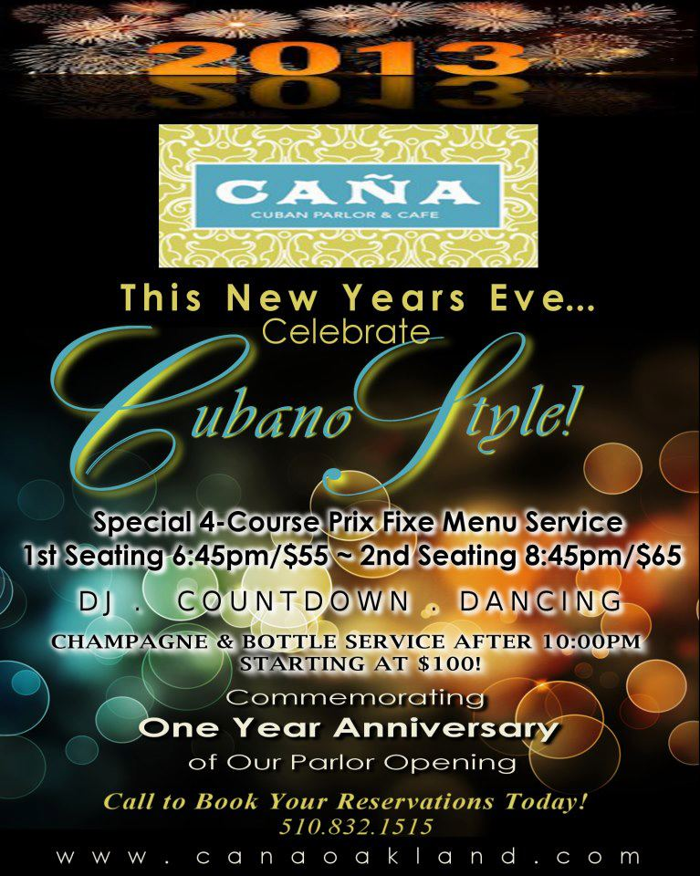 Cana Cuban New Years | Salsa By The Bay
