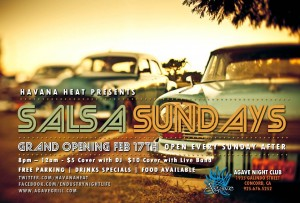 Salsa Sunday Agave