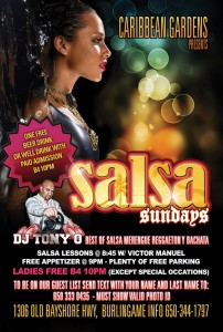 Salsa Sundays Tony O
