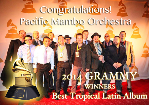 Pacific Mambo Orchestra Grammy 2014