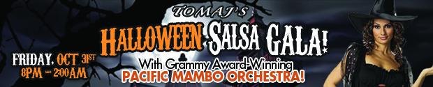 Tomaj's Halloween Salsa Gala