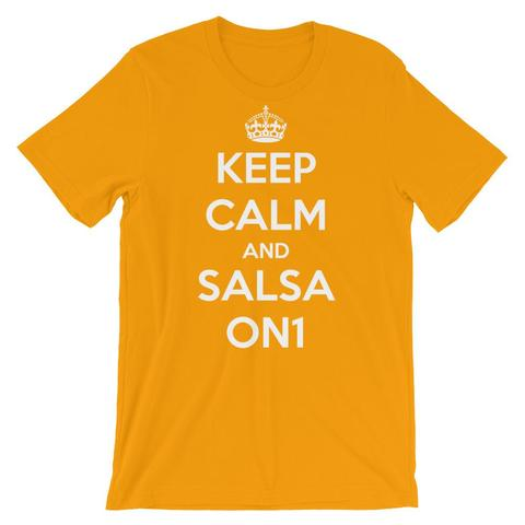Keep Calm And Salsa On1 Salsa Shirt