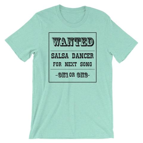 Salsa Dancer Wanted Shirt