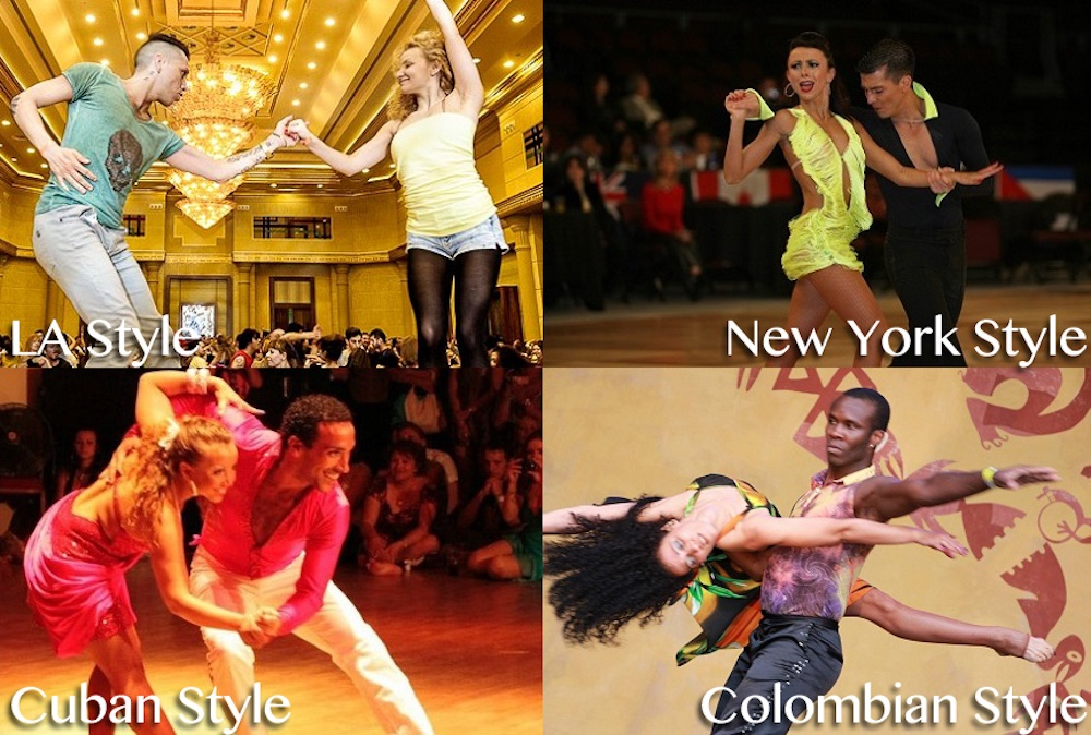 Different Styles of Salsa Dancing